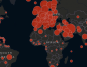 Propagación del coronavirus por el mundo